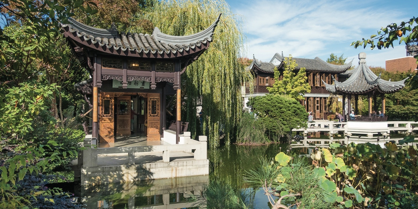Lan Su Chinese Garden In Portland Oregon Via