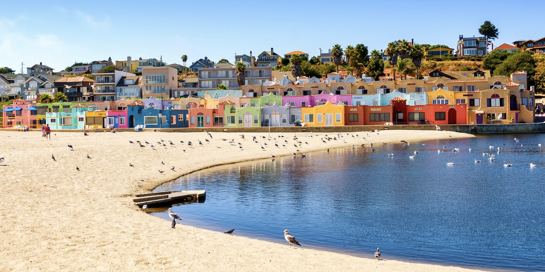 Capitola California Beach Weekend Via