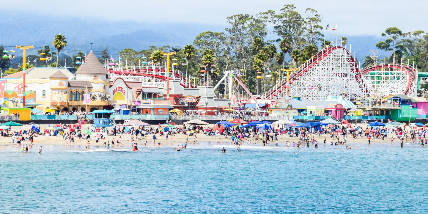 Fun On The Santa Cruz Beach Boardwalk