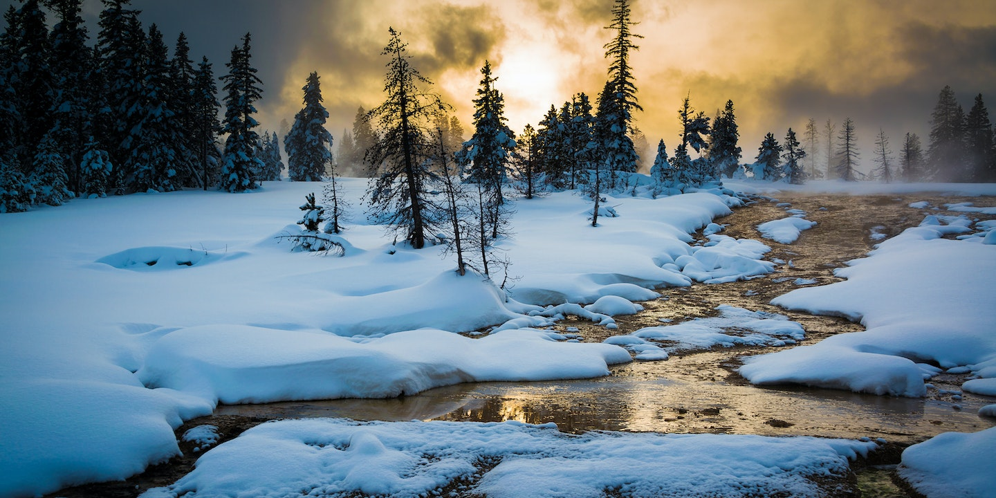 Winter In Yellowstone Q A With The Park S Caretaker Via
